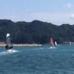 シルバーウイークは串本でウインドサーフィン